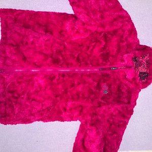 Girls reversible North Face Winter Coat